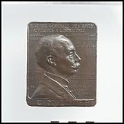 Portrait medallion of Emile Molinier