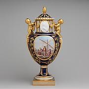 Vase with cover (Vase Paris enfants)