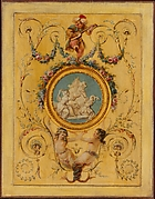 "Door panel from the ""Cabinet Turc"" of Comte d'Artois at Versailles"