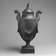 Vase with cover