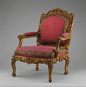 Armchair (Fauteuil à la reine) for Louise-Élisabeth of Parma