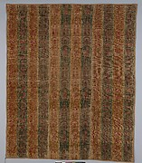 Hanging of wool velvet