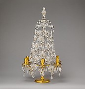 Six-light candelabrum (girandole) (one of a pair)