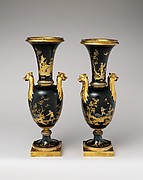 Vase (vase chinois) (one of a pair)