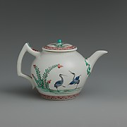 Teapot with storks