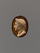 Laureate head of Napoleon I of France