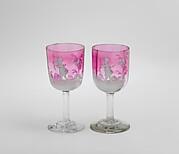 Liqueur glasses (part of a set)
