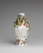 Vase with coiling dragon