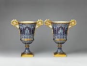 Pair of vases (Vase gothique Fragonard)