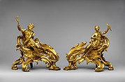Pair of firedogs (chenets)