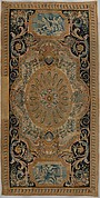 Carpet with Fame and Fortitude (one of a set of 93 made for the Grande Galerie of the Louvre)