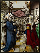 Healing of the Paralytic at Capernaum (one of a set of 12 scenes from The Life of Christ)