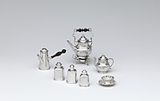 Miniature coffeepot with cover