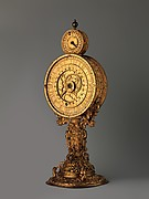 Monstrance clock