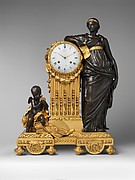 "Mantel clock (""Pendule Uranie"")"