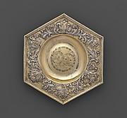 Hexagonal dish