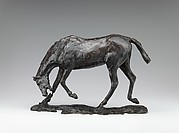 Horse with Head Lowered