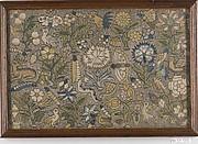 Framed cushion cover
