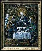 Christ at Emmaus (one of a series)