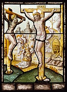 The Crucifixion (one of a set of twelve scenes from The Life of Christ)
