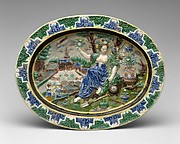Dish with Pomona