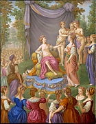 Themire Crowned by Graces