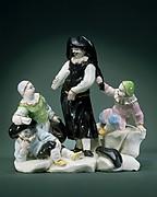 Scaramouche with Children