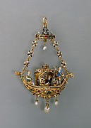 Pendant in the form of a gondola