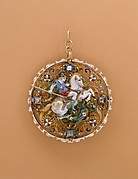 Pendant with Saint George and the Dragon
