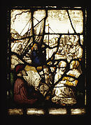 Christ Preaching from a Boat in the Lake of Gennesaret (one of a set of 12 scenes from The Life of Christ)