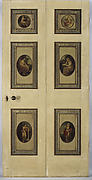 Pair of doors with scenes after Angelica Kauffman