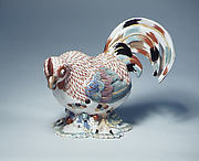 Chinese rooster (one of a pair)