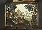Pietra dura landscape scene