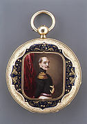 Watch with a portrait of Nicholas I, czar of Russia (r. 1825–55)