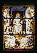 St. Bruno, founder of the Carthusian Order, with other saints