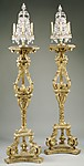Six-light candelabra (Girandoles) (one of a pair)