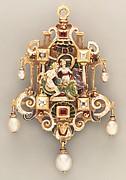 Sixteenth-century-style pendant