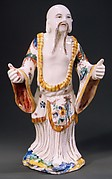 Figure of a standing Chinese man