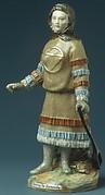 Samoyed Woman