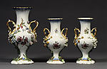 Set of three vases (Vases Duplessis)