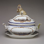 Tureen with cover