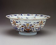 Bowl with coat of arms of the Horsmanden family