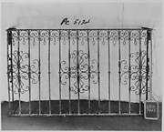 Balcony grille
