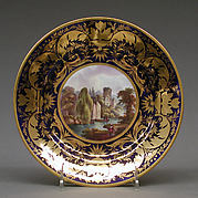 Plate (part of a dinner service)