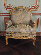 Armchair (Bergère) (one of a pair)