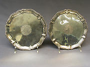 Salver (one of a pair)
