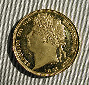 Proof sovereign of George IV (coronation year)