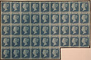 """""""Two Penny Blue"""" postage stamps"""