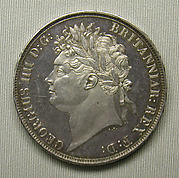 Proof crown of George IV