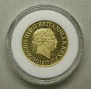 Proof sovereign of George III